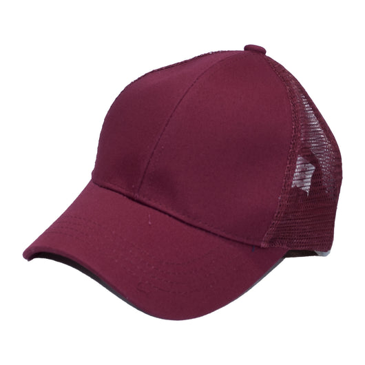 BT-4 Pony Caps Burgundy