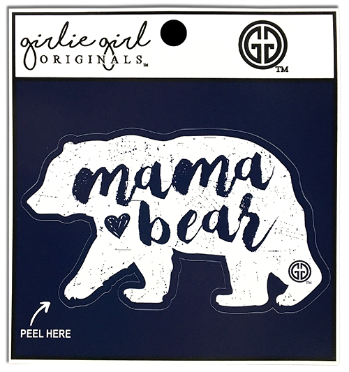 Mama Bear Decal/Sticker Blue