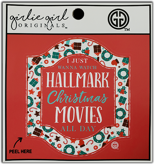 Hallmark Movies Decal/Sticker