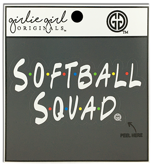 Softball Squad Decal/Sticker