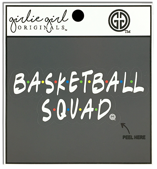 Basketball Squad Decal/Sticker