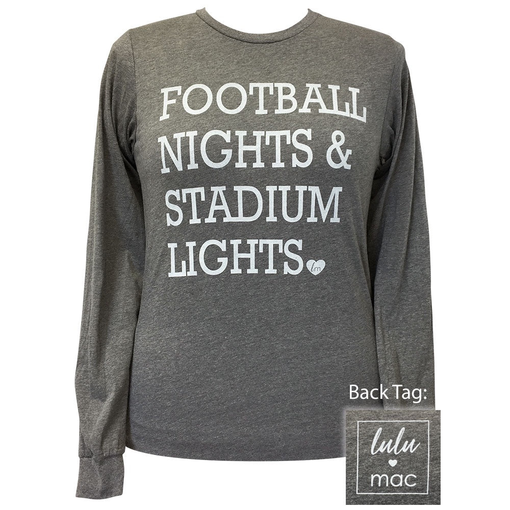 lulu mac-30 Football Night Deep Heather Sleeve