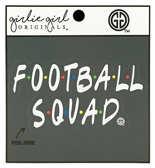 Football Squad Decal/Sticker
