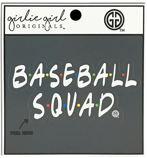 Baseball Squad Decal/Sticker