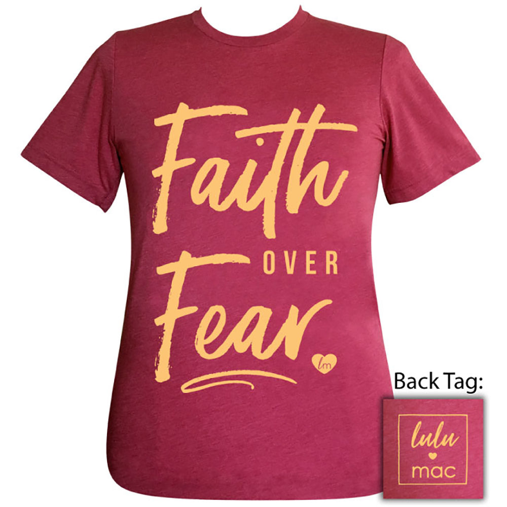 lulu mac-Faith Over Fear Heather Raspberry-20 Short Sleeve