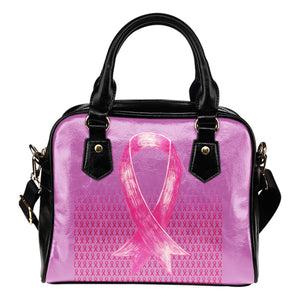 Bold Pink Ribbon Shoulder Bag