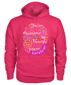 You are Inspiring Survivor Hoodies and Sweatshirts