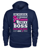 Don't Mess With Me I Survived Cancer Hoodies and Sweatshirts