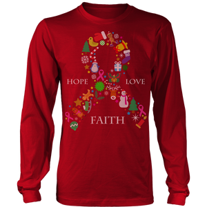 Hope Love & Faith Ugly Christmas Shirts and Sweaters