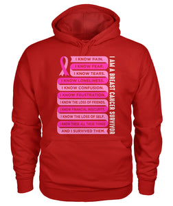 I am a Breast Cancer Survivor Together Hoodies and Sweatshirts