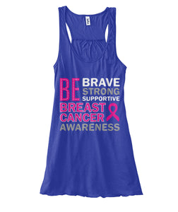 Be Brave Be Strong Tank Tops