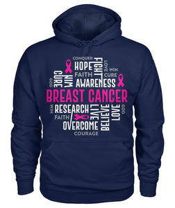 Breast Cancer Motivational Hoodies and Sweatshirts