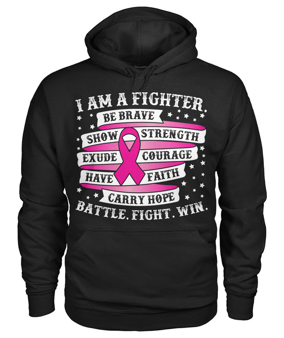 I am a Fighter Battle Fight Win Hoodies and Sweatshirts