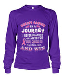 Breast Cancer is a Journey Shirts and Long Sleeves