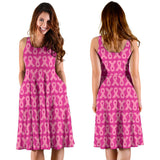 PINK RIBBONS WOMEN'S DRESS