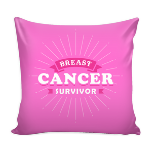 Breast Cancer Survivor Throw Pillow