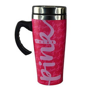 Think Pink Thermal Mug