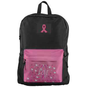 Love - Pink Ribbons - Backpack