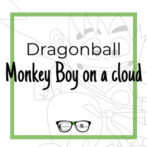 Dragonball Monkey boy on a cloud