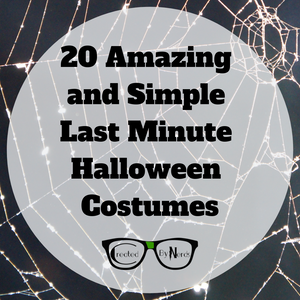 20 Amazing and Simple Last Minute Halloween Costumes