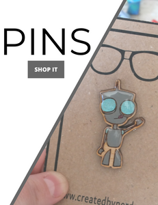 pins collection banner for nerdy wooden hand painted pins fandom geek