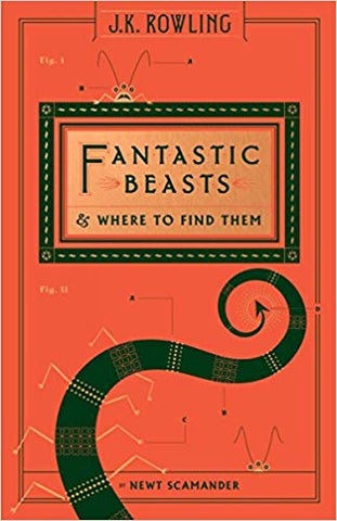 Fantastic Beasts and where to find them book cover