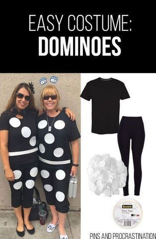 Dominoes halloween costume