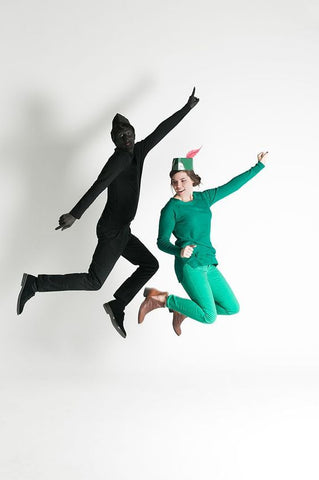 couple peter pan halloween costume