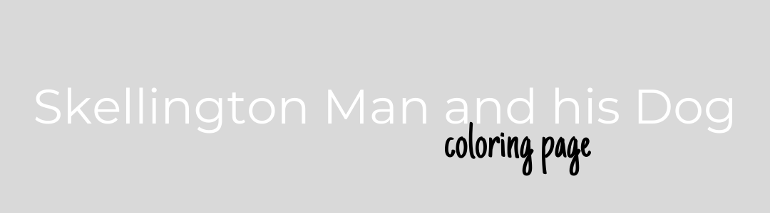 Skellington Man and his Dog Blog banner