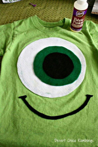 Mike Wazowski Tshirt halloween costum