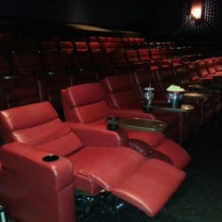 two recliner seats at Green Valley Galaxy Theater