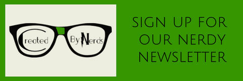 Nerdy Newsletter Subscription Landing Page
