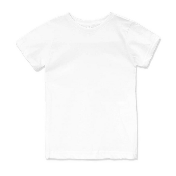 White Youth and Toddler Crew - Any CBN Design - No custom designs
