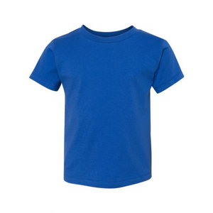 Royal Blue Toddler Crew - Any CBN Design - No custom designs