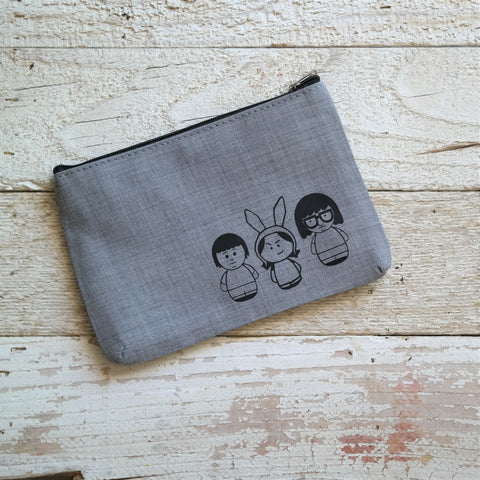 Sibling Strong! Zipper Pouch