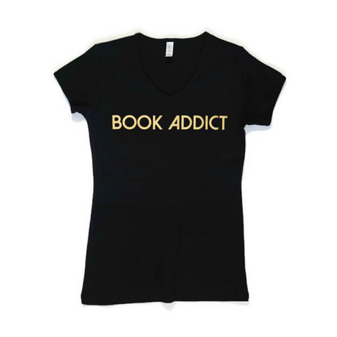 Book Addict - Women's Fitted Tee Shirt