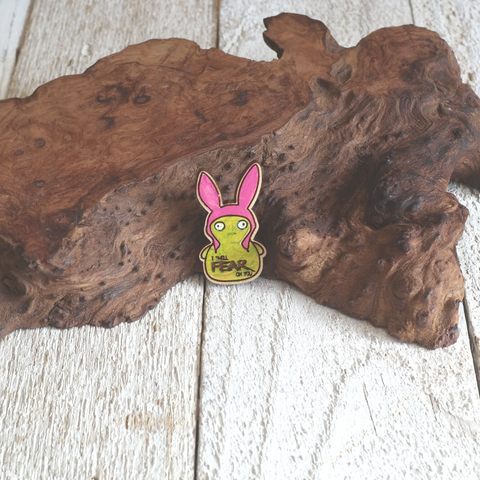 Kuchi Kopi w/ Rabbit Ears Pin