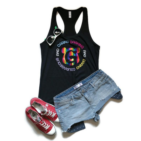 Dashing and Daring Racerback Tank Top