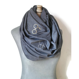 Magical Glasses Infinity Scarf