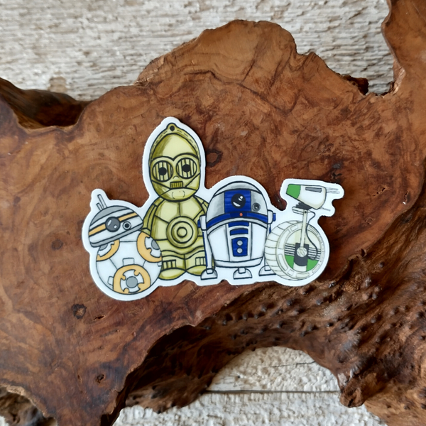 Droid Gang Sticker