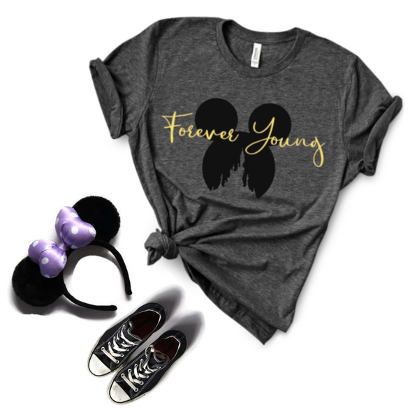 Forever Young Unisex Tee Shirt