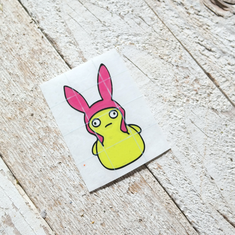 Kuchi Bunny Decal