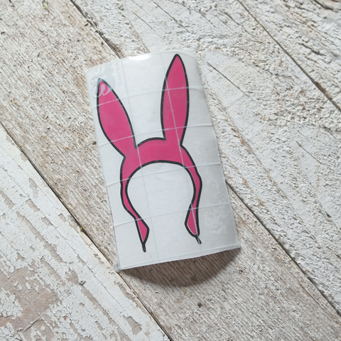 Louise Bunny Ears Decal
