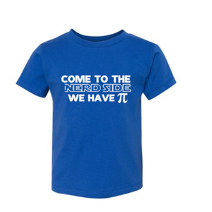 Come to the Nerd Side _ Royal Blue