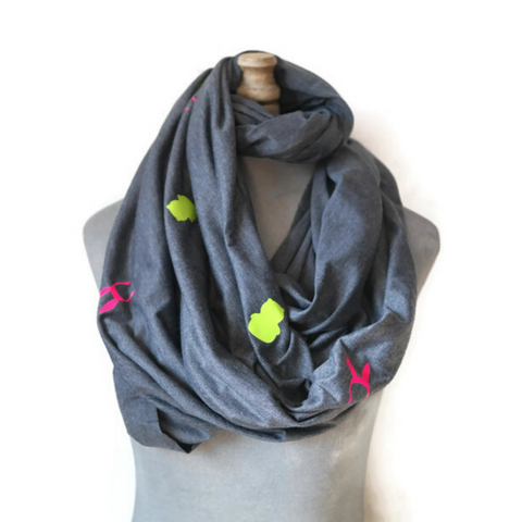 Louise and Kuchi Infinity Scarf