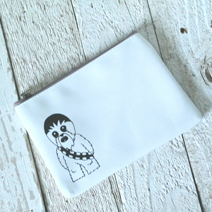 Giant Talking Hairball! Zipper Pouch