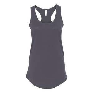 Women's Racerback Black Tank top - Any CBN Design - No custom designs