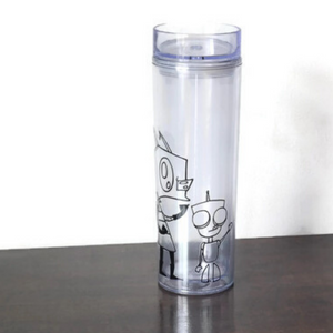 Zim and Gir - 16 oz Acrylic Tumbler