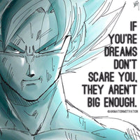 Anime quote, dragon ball quote, goku quote