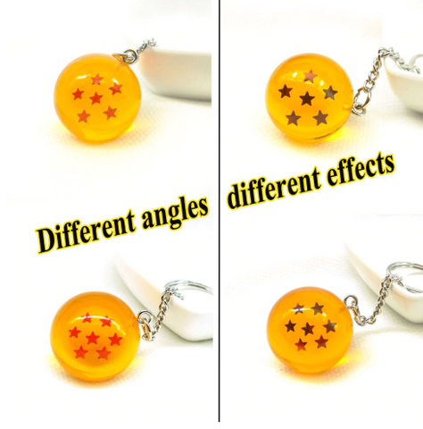 dragon ball star ball key chain